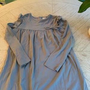 Olive Juice NWOT grey size 8 Jersey Dress
